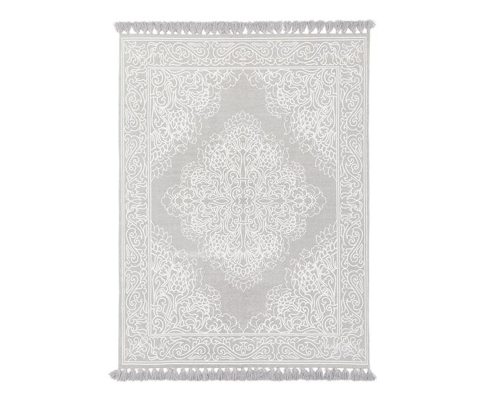 Tappeto Salima grigio chiaro