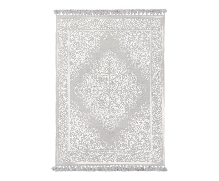 Tappeto in cotone tessuto a mano Salima, 200x300 cm
