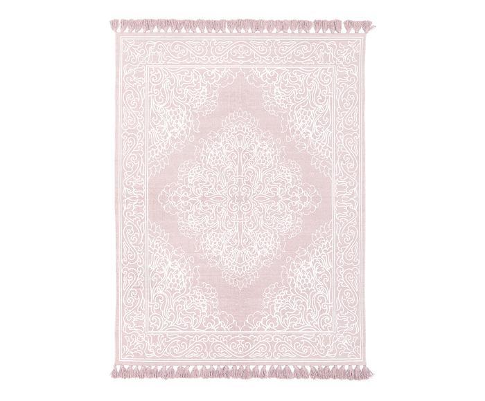 Tappeto Salima rosa, 160x230 cm