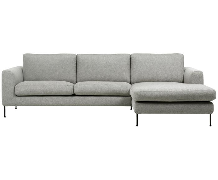 Sofá de 3 plazas con chaise longue derecha Cucita