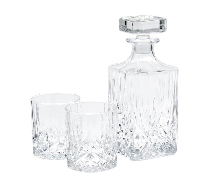 Set de whisky George - 3 piezas