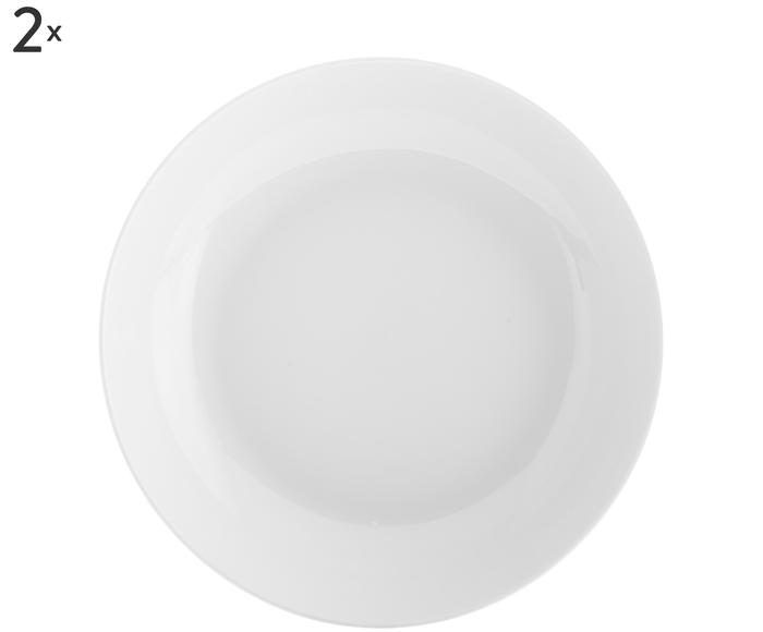 Set de 2 platos de sopa Delight Modern