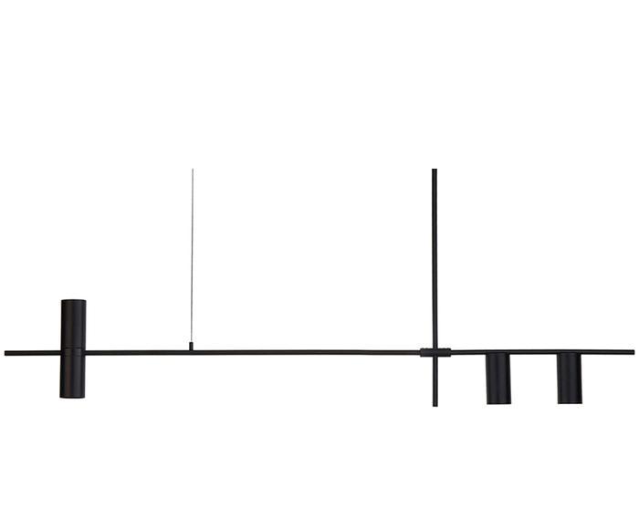 "Lampa wisząca ""Cassandra"", 143 x 11 x 73 cm"