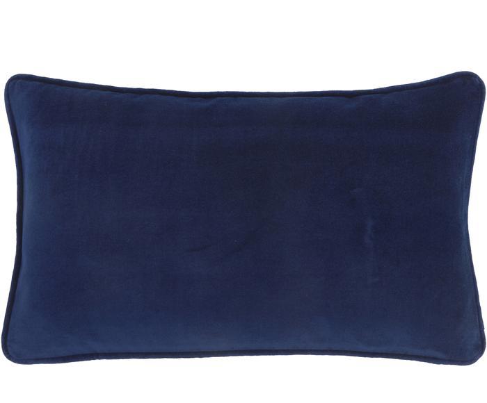 Funda de cojín en terciopelo Dana, 30 X 50 cm