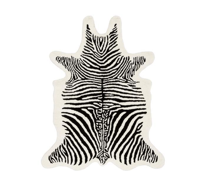 """Dywan Savanna """"Zebra"""""""