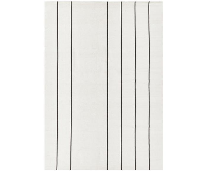 Alfombra artesanal de algodón David, 160 x 230 cm