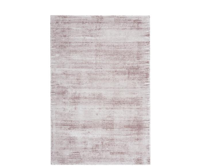 Alfombra en viscosa tejida a mano Jane, 160 x 230 cm