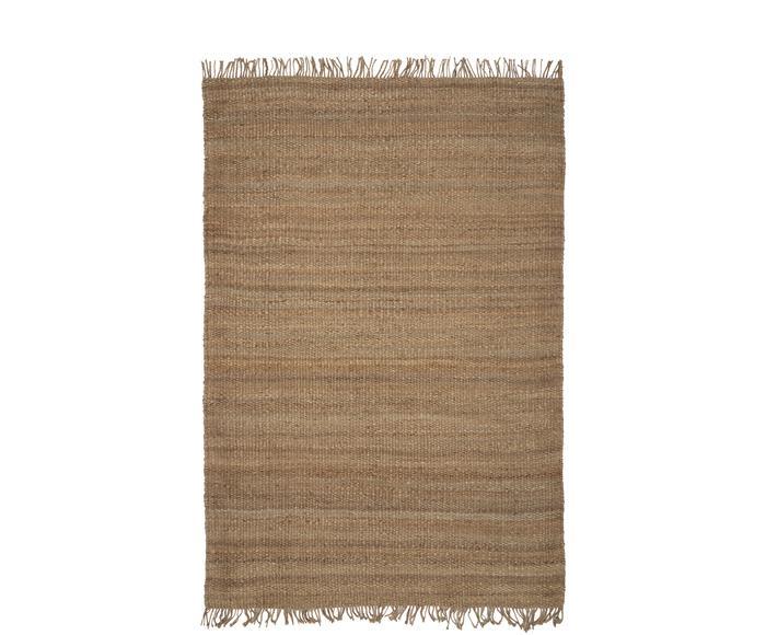Handgefertigter Jute-Teppich Naturals