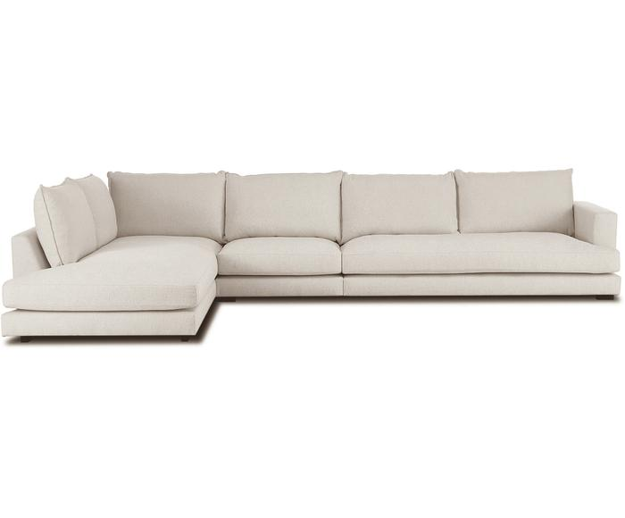Sofá con chaise longue izquierda Tribeca XL