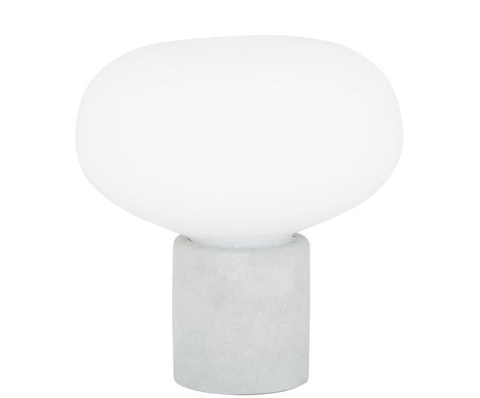 """Lampa stołowa z betonu """"Alma"""", Ø 23, wys. 24 cm"""