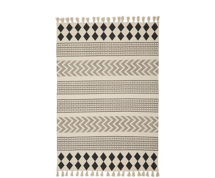 Tapis Edna, coton, 120 x 180 cm