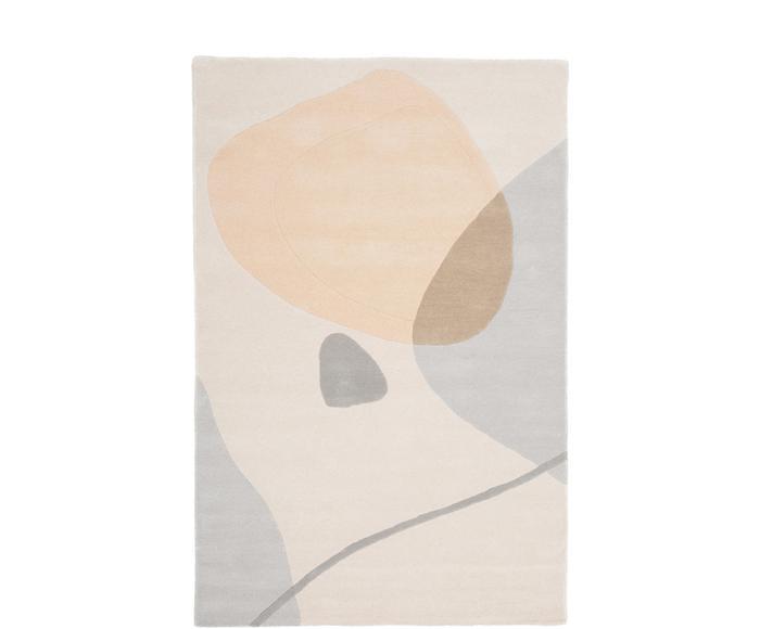 Tapis LUKE, laine et coton, 180 x 120 cm