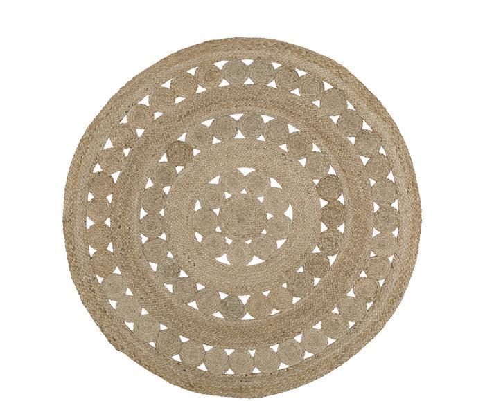 Handgefertigter Jute-Teppich Shyam