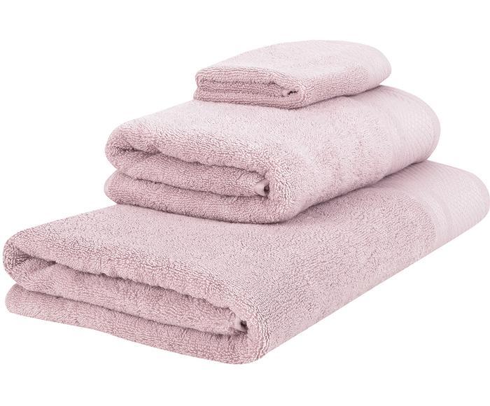 Set de toallas Premium, 3 pzas., Tamaños diferentes
