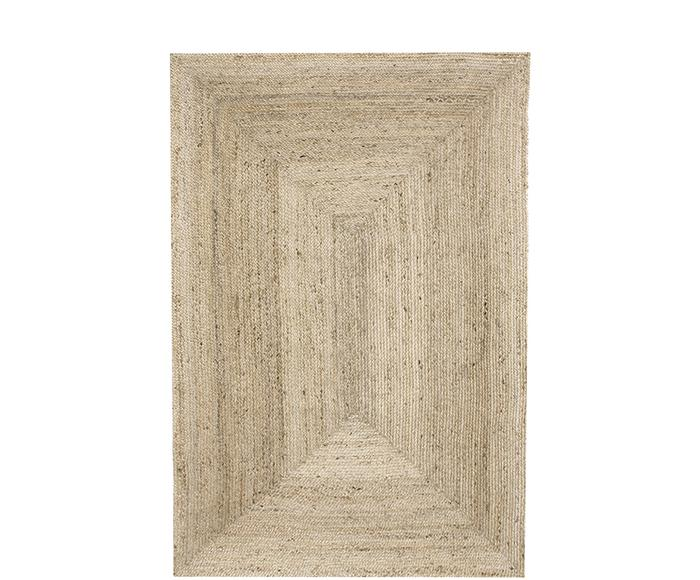 Handgefertigter Jute-Teppich Sharmila, 195 x 300 cm