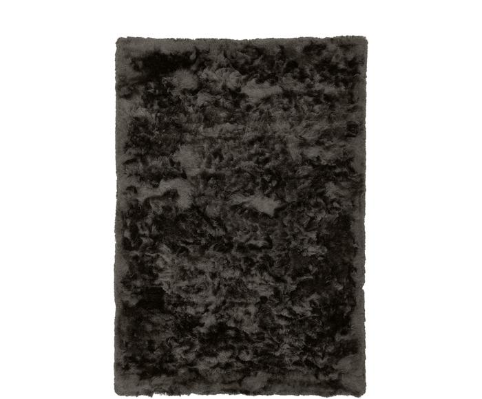 Glänzender Hochflor-Teppich Timmy