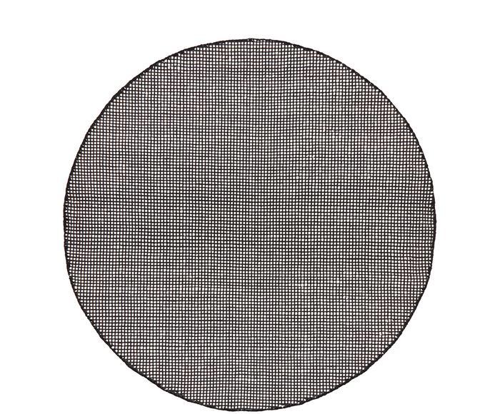 Handgewebter Teppich Amaro, Ø 140 cm