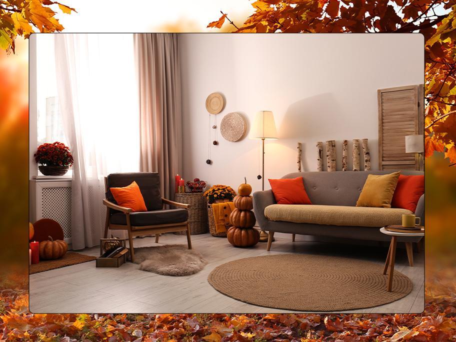 Regnerischer Herbst-Tag