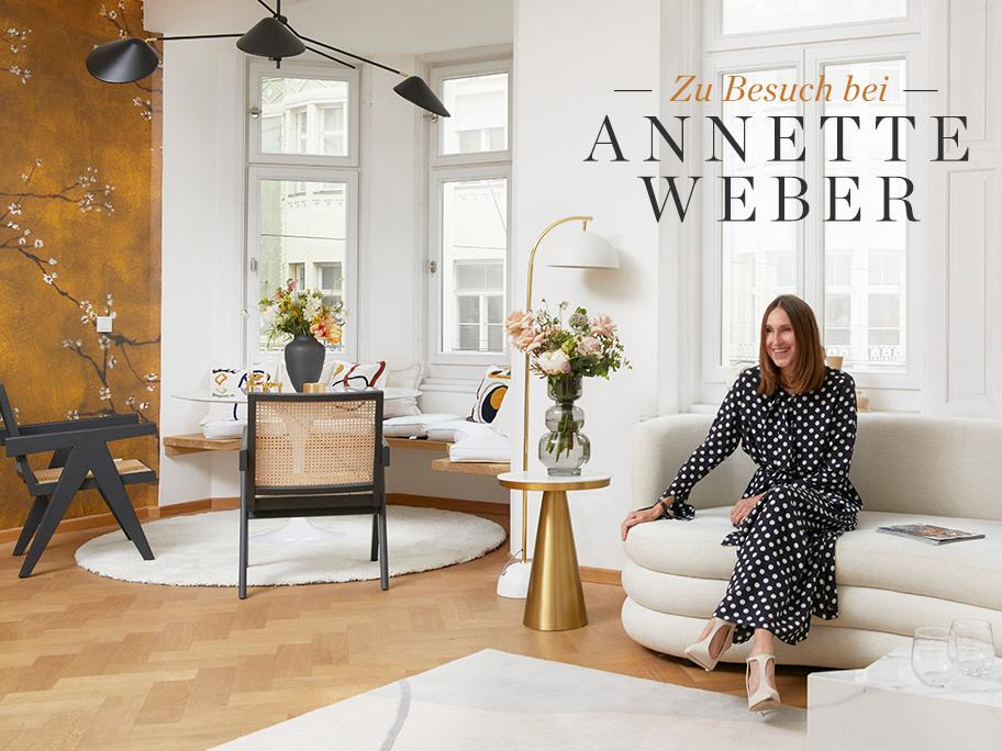 Annette Weber zeigt ihr Büro