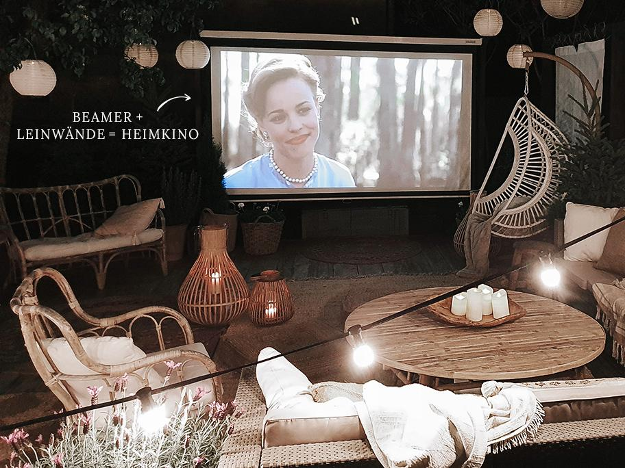 Beamer fürs Outdoor-Kino
