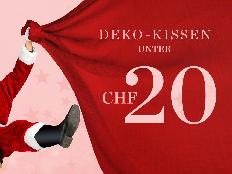 Deko-Kissen unter CHF 20