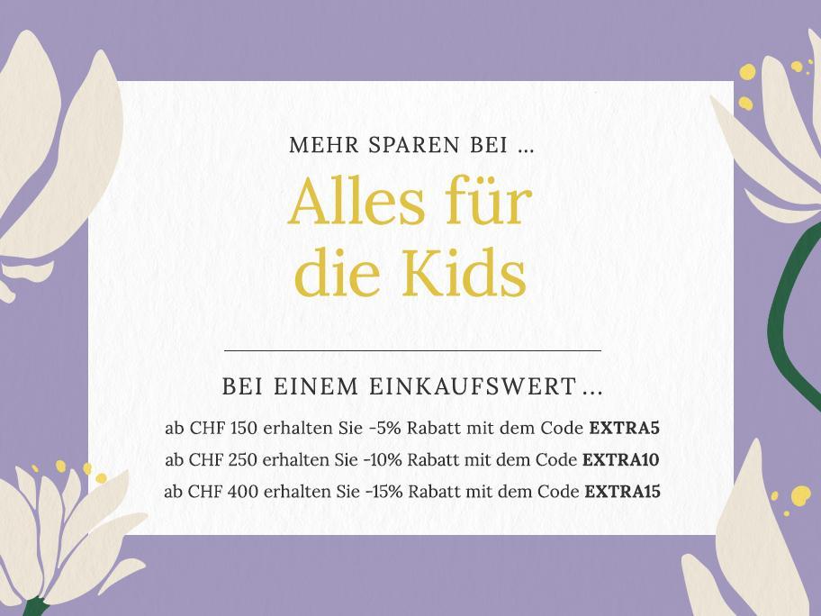 Alles für die Kids ...