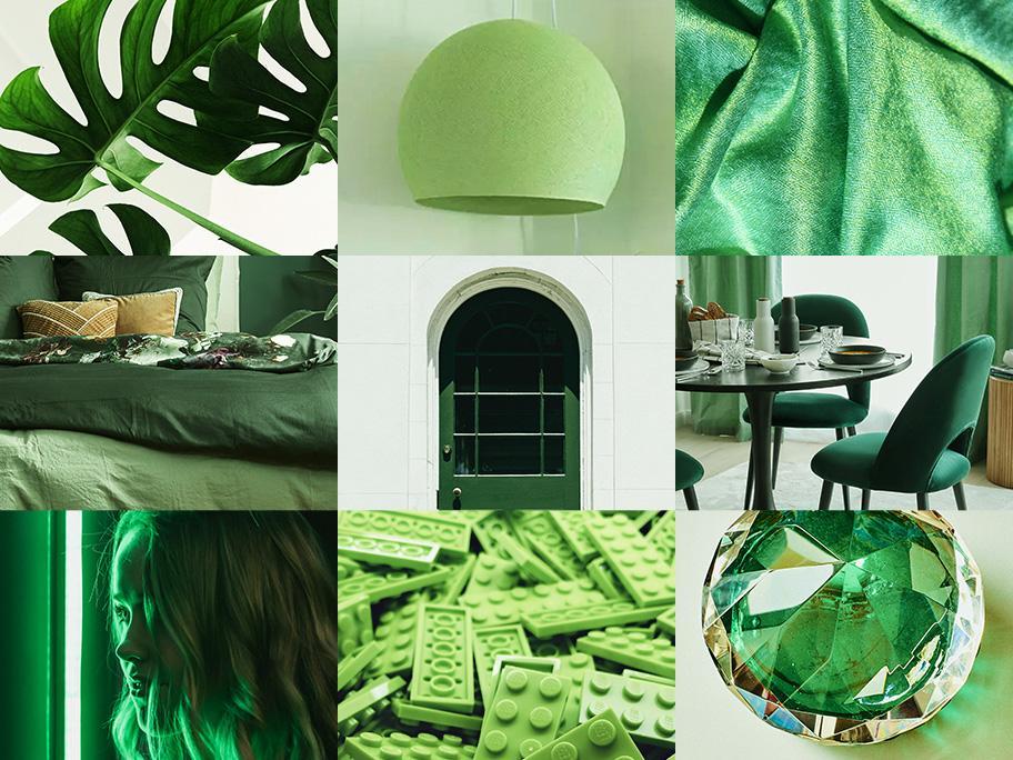 Harmonisierendes Grün