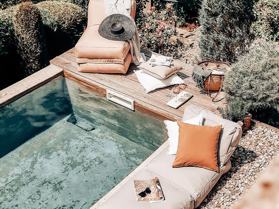 Cozy Outdoor-Textilien