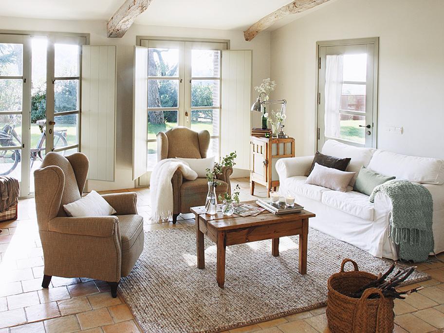 Cottage-Flair für's Wohnzimmer