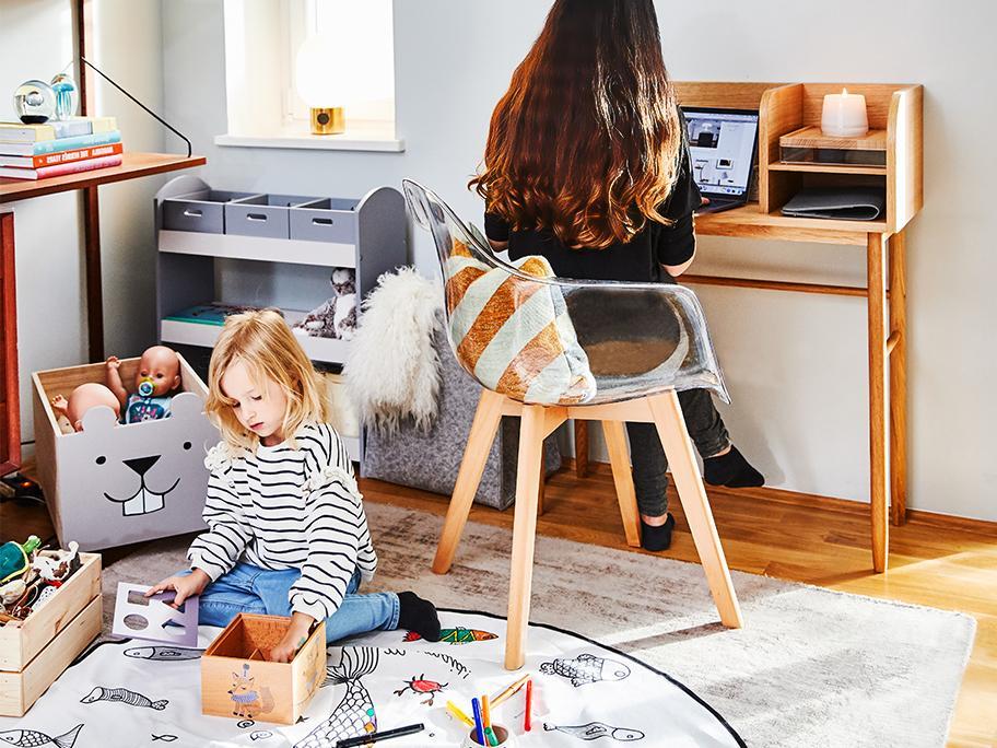 Das Home-Office mit Kids