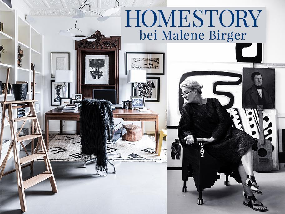 Zu Hause bei Malene Birger