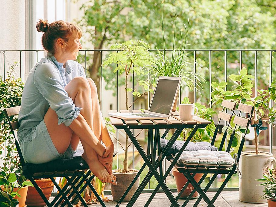 Ab ins Outdoor-Home-Office!