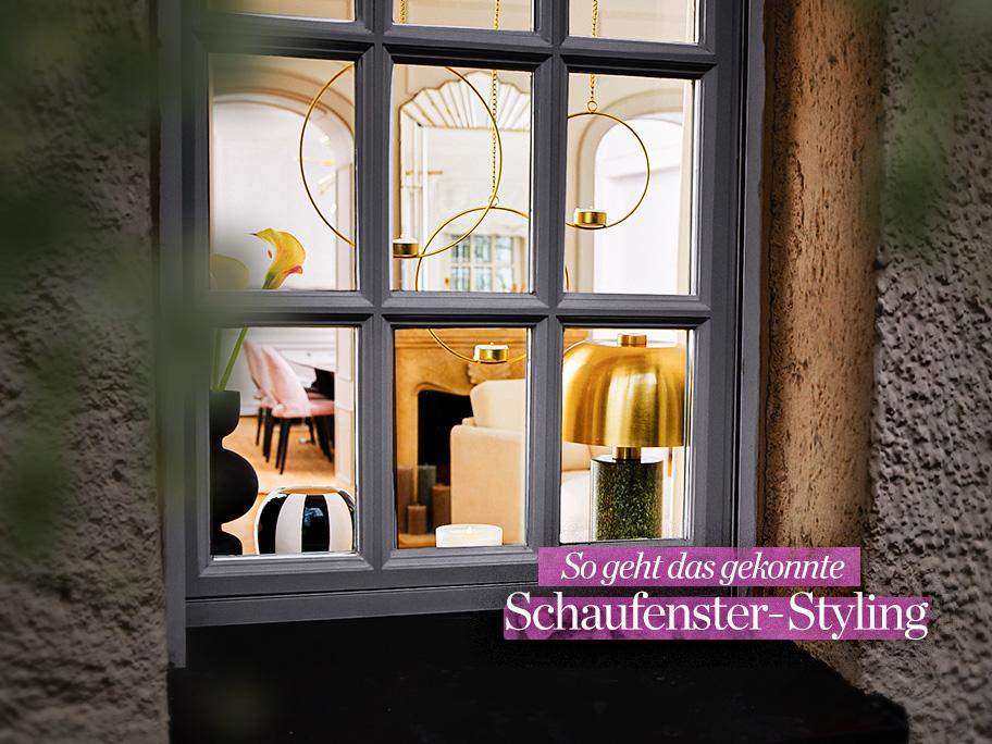 Das Fensterbrett-Styling
