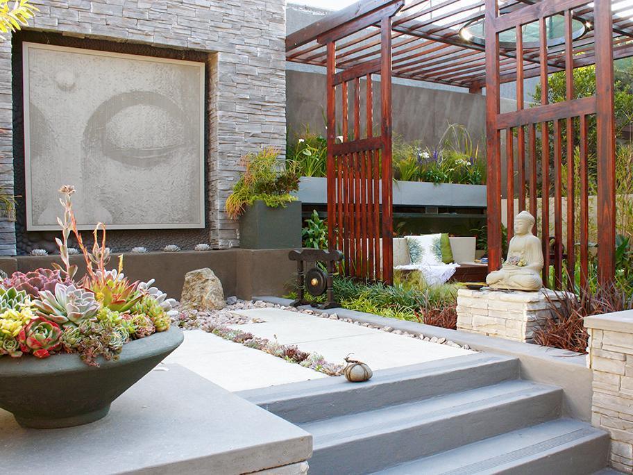 Zen-Oase zum Entspannen