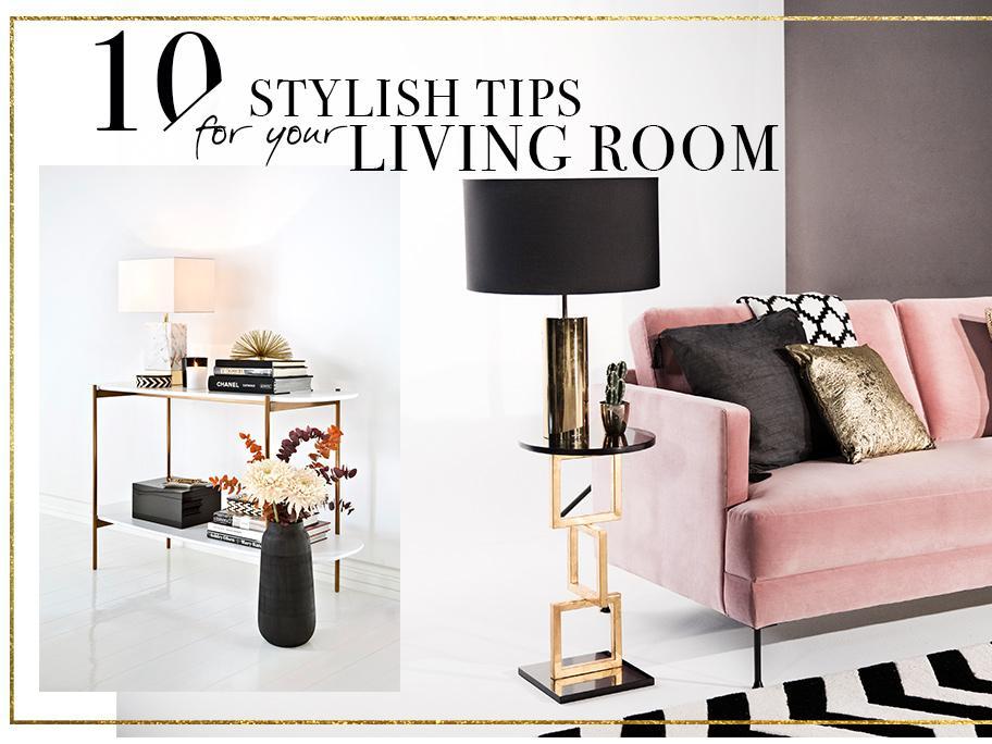 10 nápadů na obývací pokoj