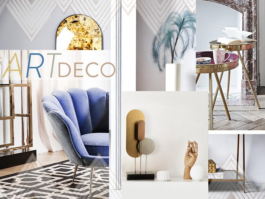 Art deco: trendy update