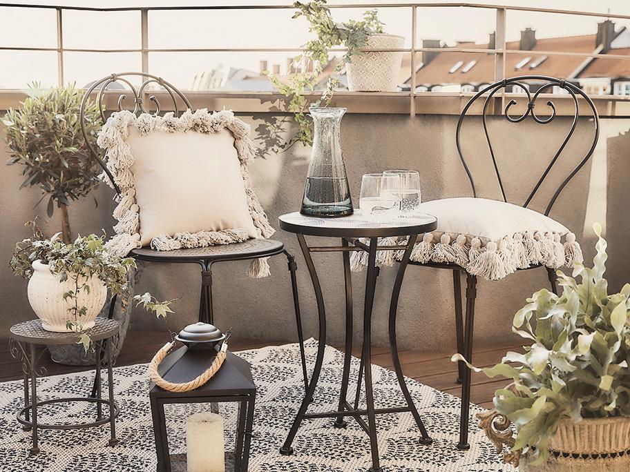 Balkon ve francouzském stylu