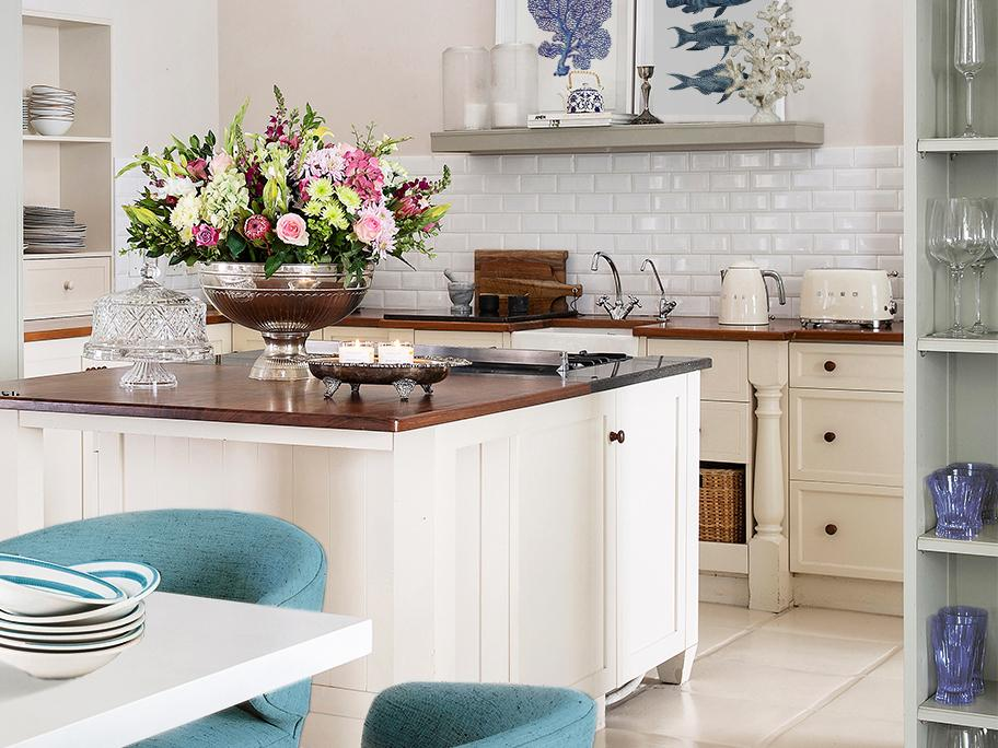 Kuchyň ve stylu Hampton