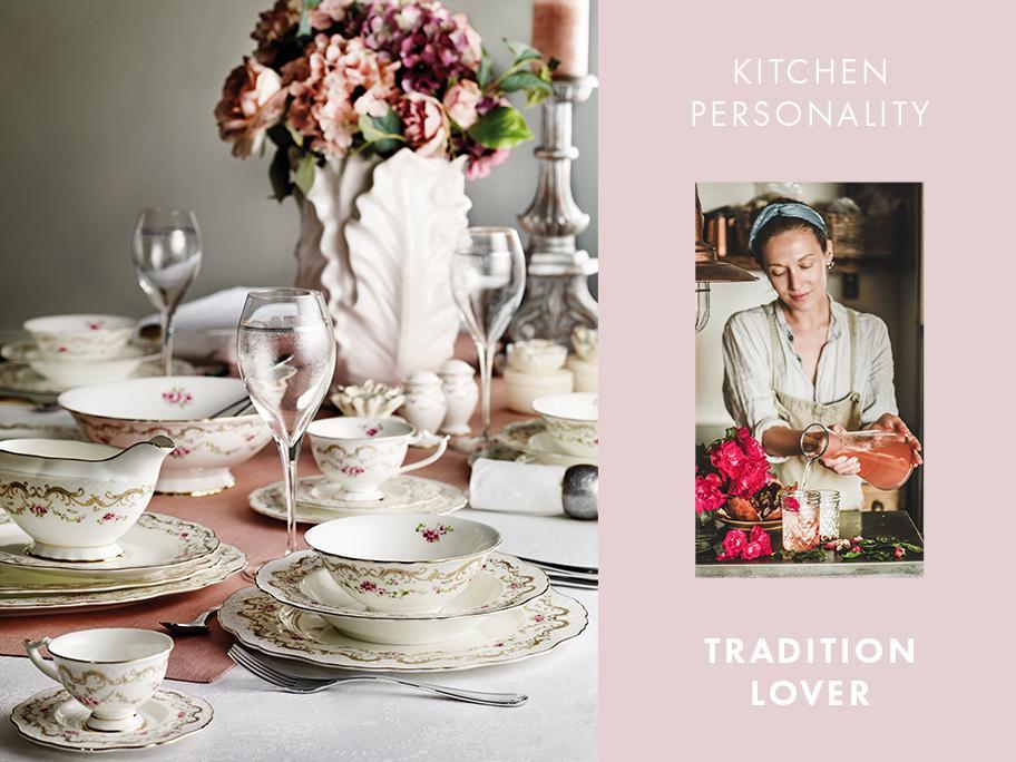 Kuchyň pro milovníky tradice