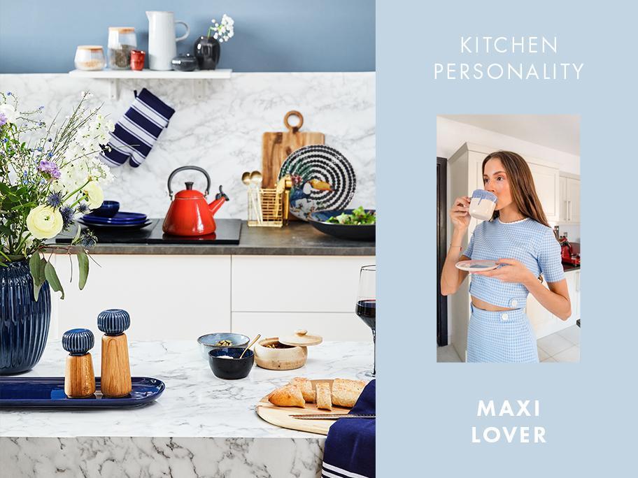 Kuchyň pro maximalisty