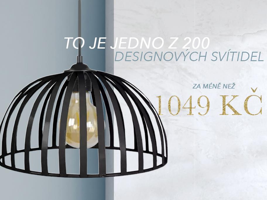 3 druhy svítidel do 1049 Kč!
