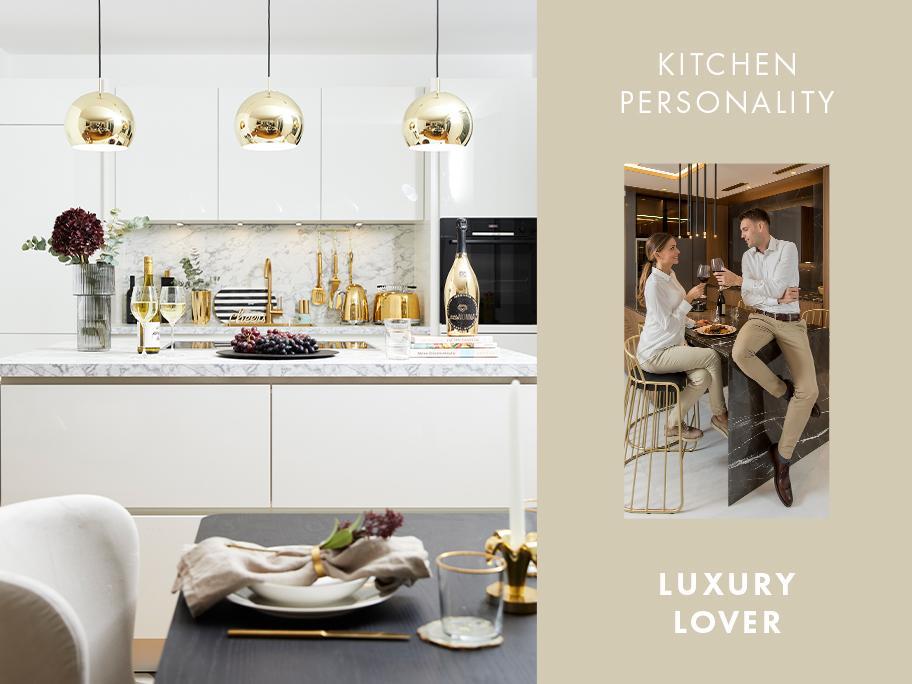 Kuchyň pro milovníky luxusu