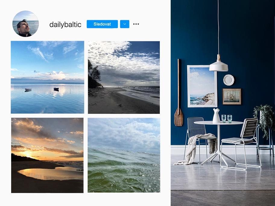 Interiér jako Baltské moře