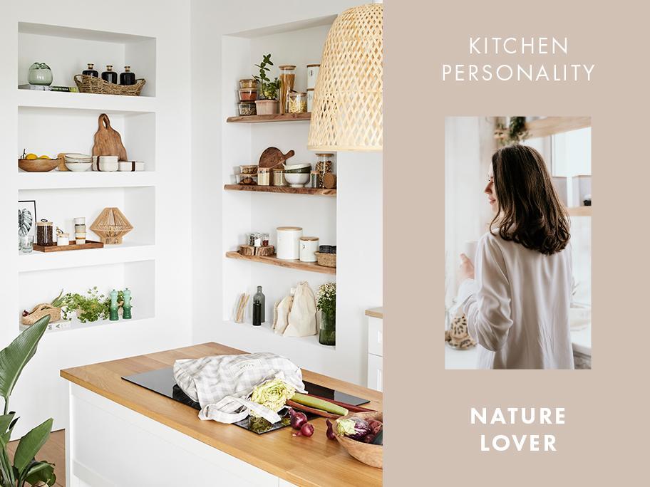Kuchyň pro milovníky přírody