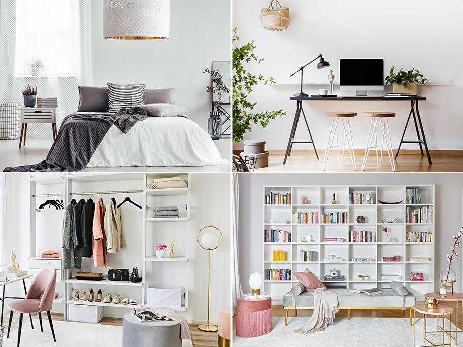 4 nápady na 1 místnost