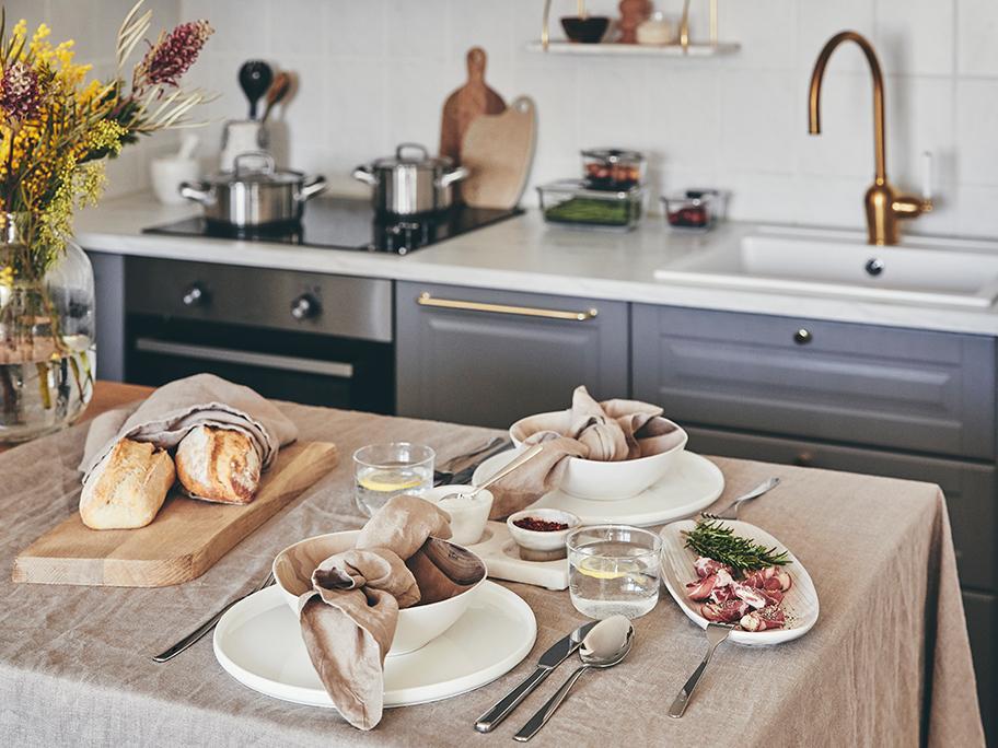 3 styly italského stolování