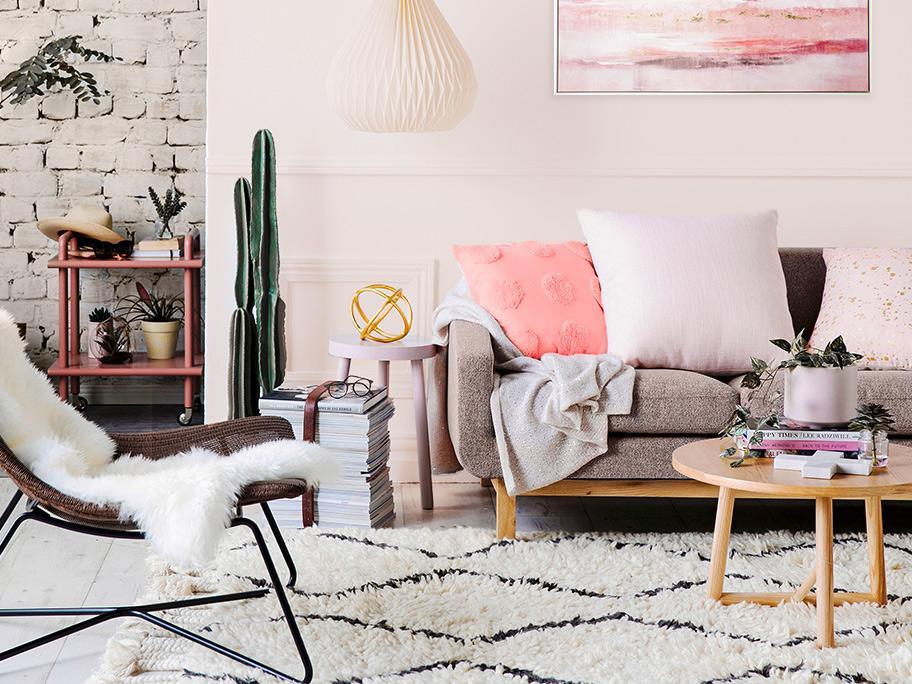 Barvy, které zahřejí interiér