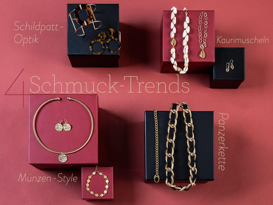 4 Schmuck-Trends vorgestellt