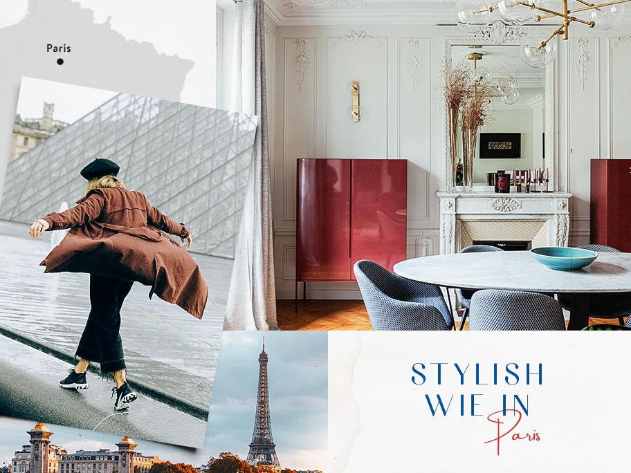 Metropolen-Chic wie in Paris