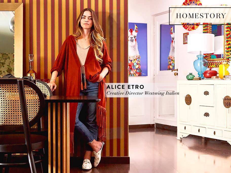 Zu Hause bei Alice Etro